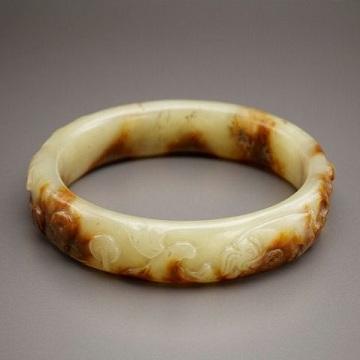 上古雕纹玉环