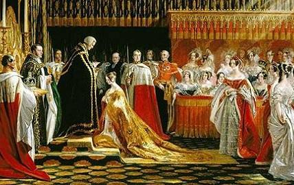 维多利亚女王加冕